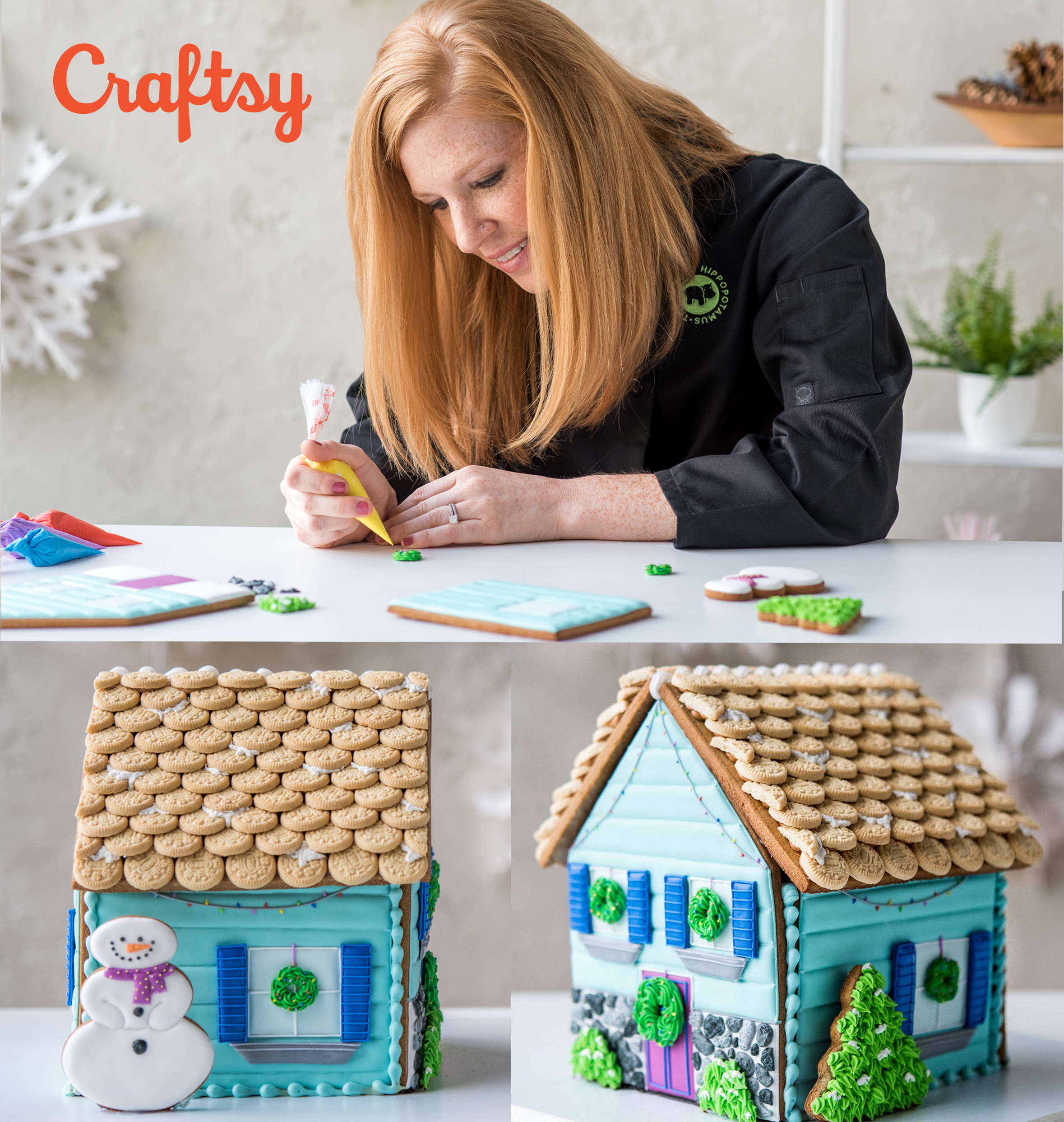 Let's Decorate: Gingerbread House -