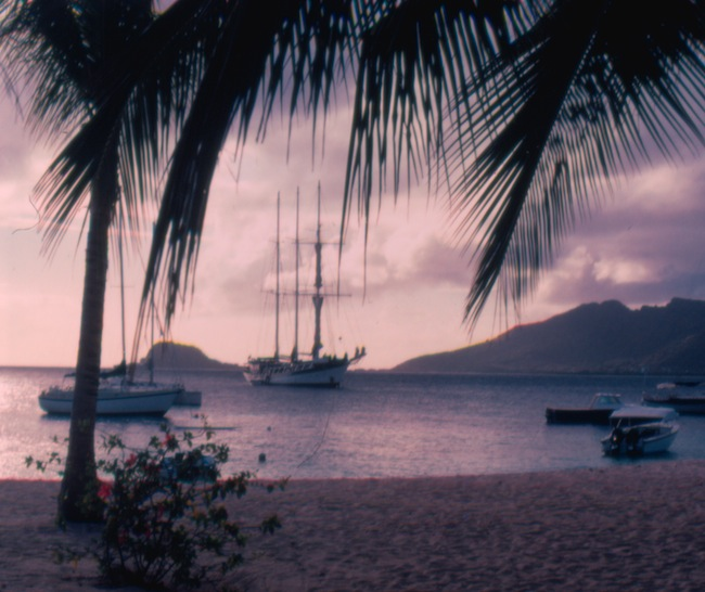 SV Mandalay  in the Grenadines