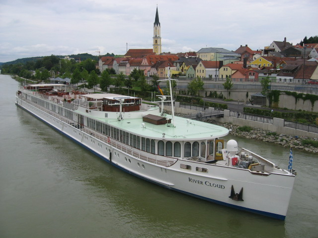 River Cloud  on the Danube River in Vilshofen, Germany. Photo: Steve Wellmeier