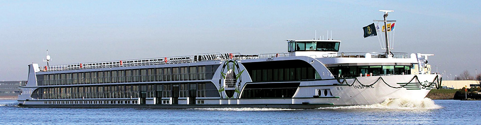The new 182-passenger Tauck Inspire . Photo: Tauck / Scylla A.G.