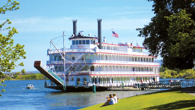 Four new riverboats, similar to the  Queen of the Mississippi,  will join the American Cruise Line fleet over the next several years. Photo: American Cruise Line.