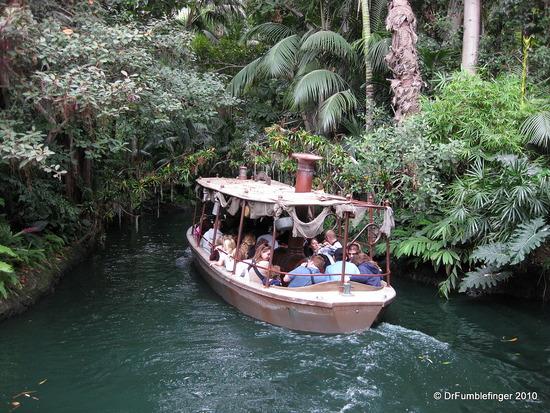 Photo of Disneyworld Jungle River Cruise courtesy Dr. Fumblefinger
