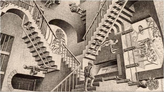 Escher Paradox