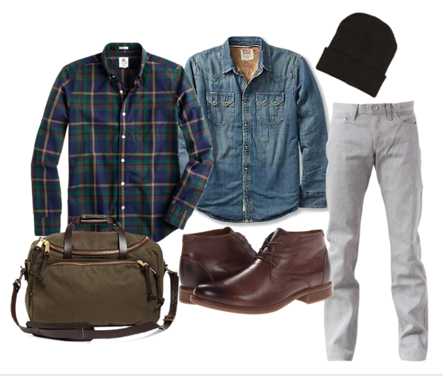 winter style, filson, naked and famous, style