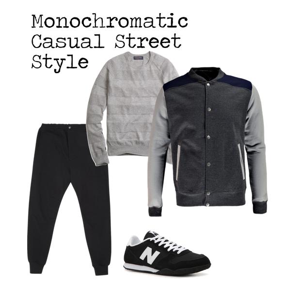 Ensemble Style Casual Street Style