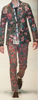 Floral is cool, but not this cool.