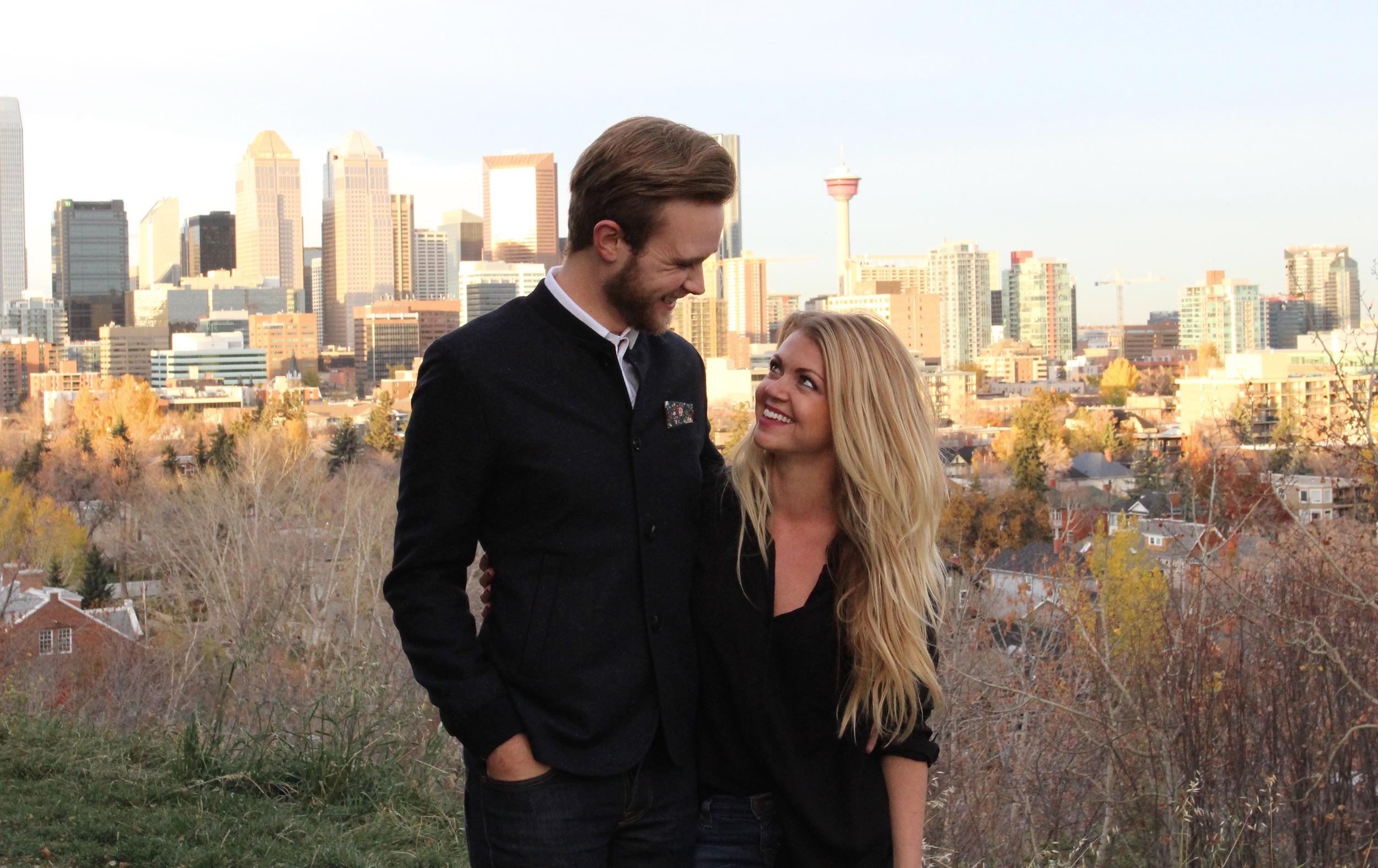 Calgary skyline.