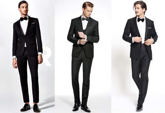 Black suit formal tuxedo ensemble personal stylist calgary