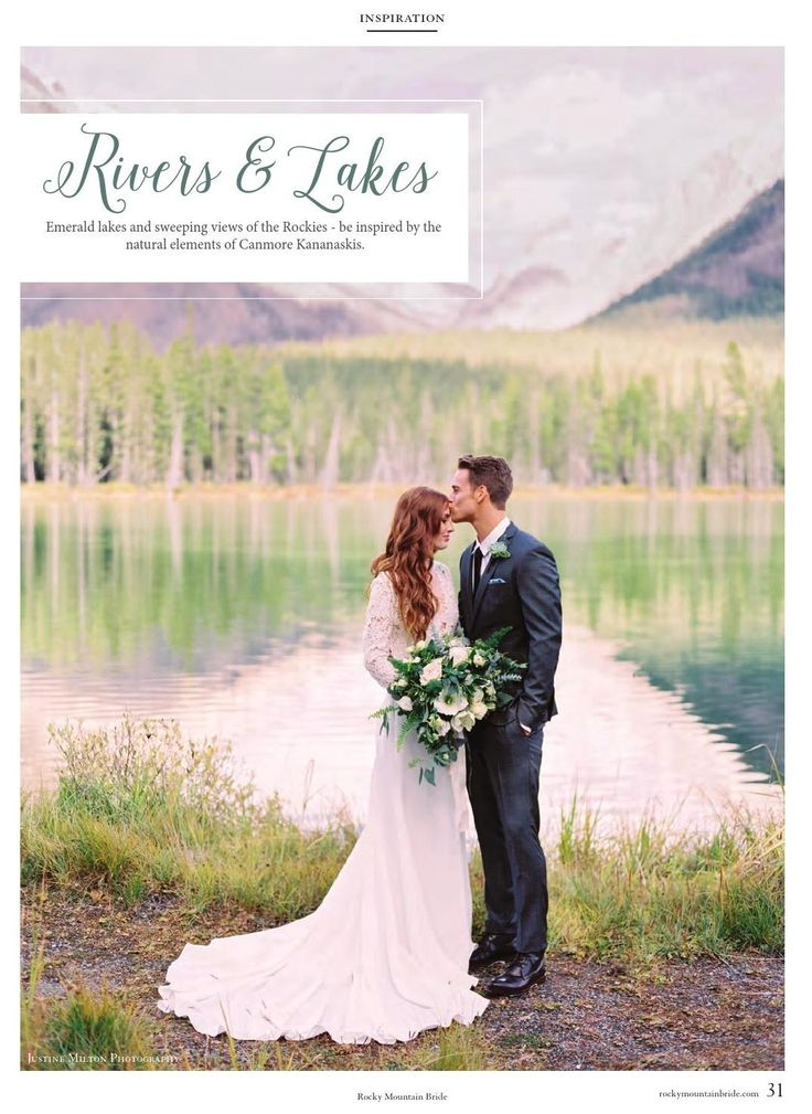 Ensemble Styled Wedding Shoot for Rocky Mountain Bride