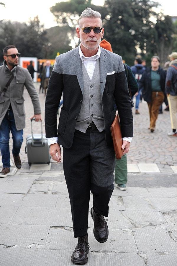 ensemble style nick wooster menswear icon stylist
