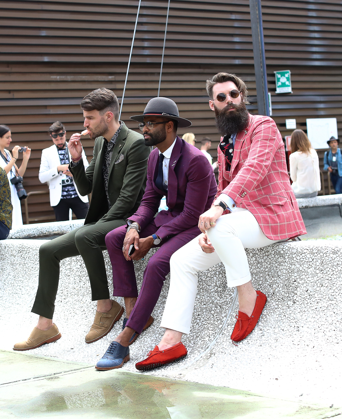 Pitti Uomo 90 Lauren Larsen menswear stylist Ensemble Style calgary