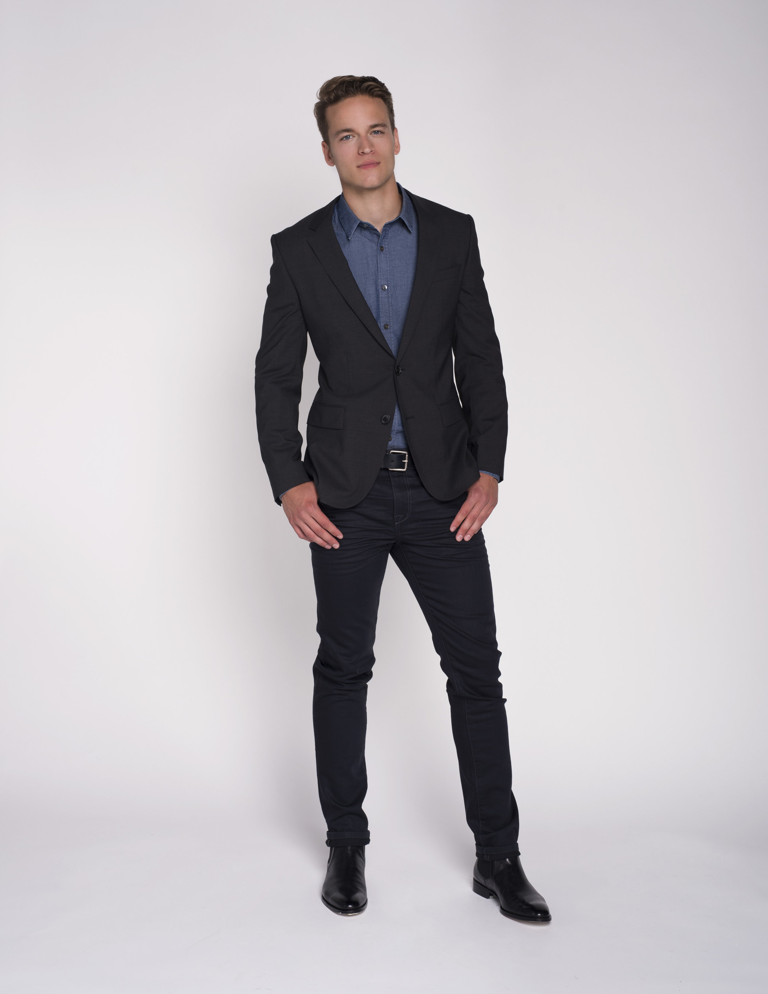 calgary stylist business casual job interview