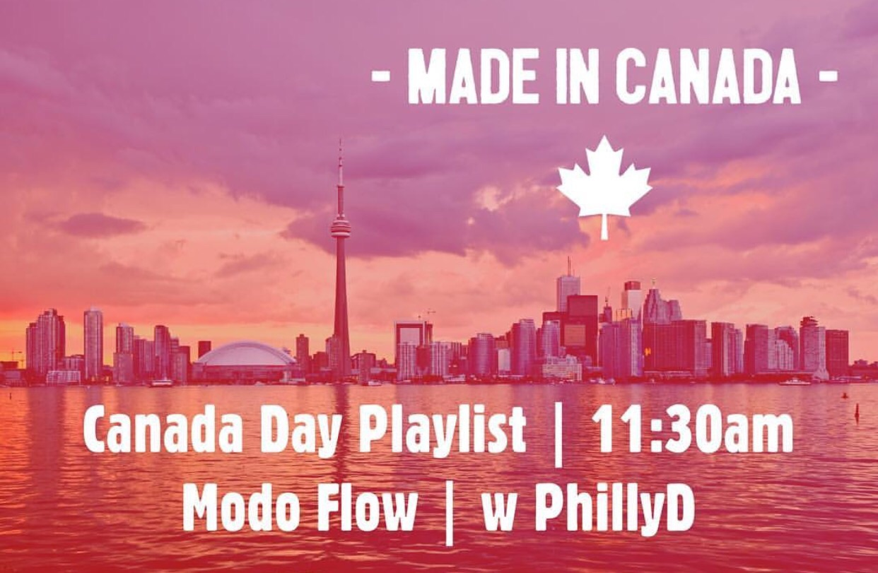 Oh Canada playlists can be found in  PLAYSLISTS  section of my website!