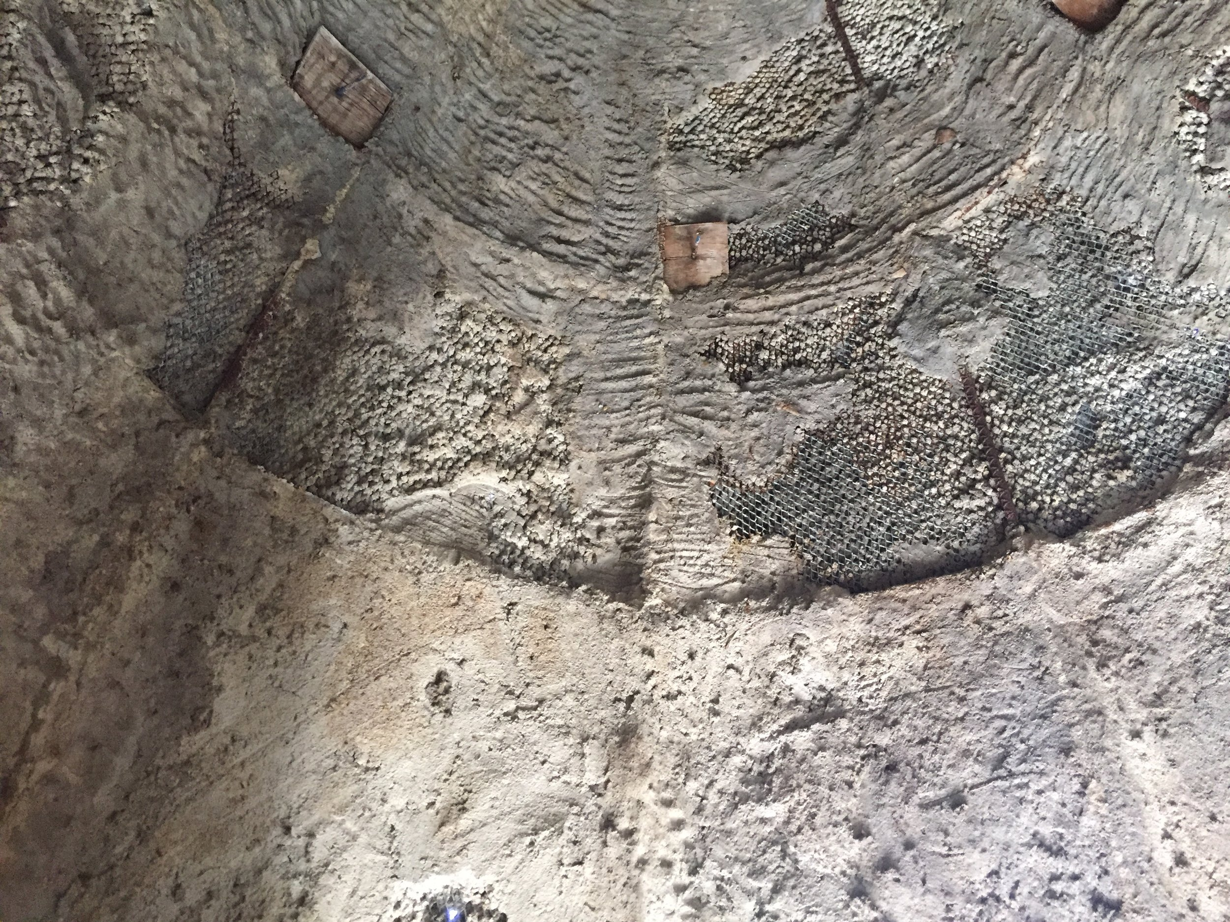 Bat Tower with Guano Mound, Interior