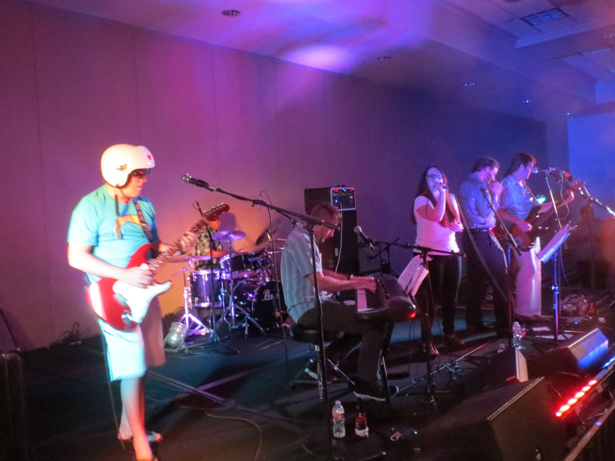 The Oceanside Glasstile Band!