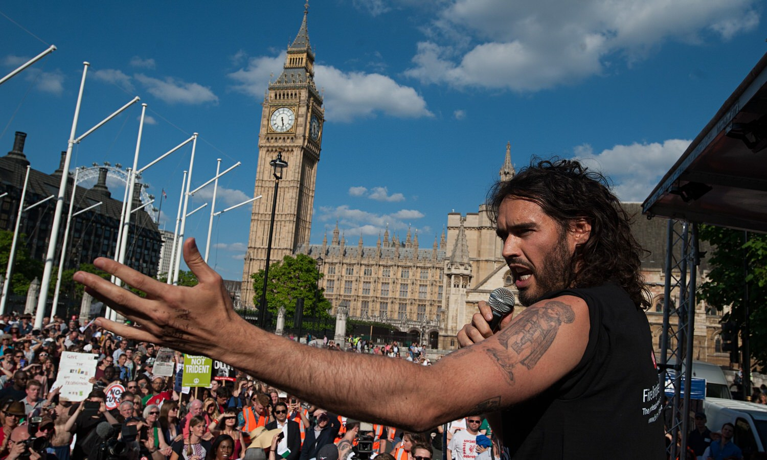"""""""Power isn't [in the House of Commons], it is here, within us... the revolution that's required isn't a revolution of radical ideas, but the implementation of ideas we already have."""""""