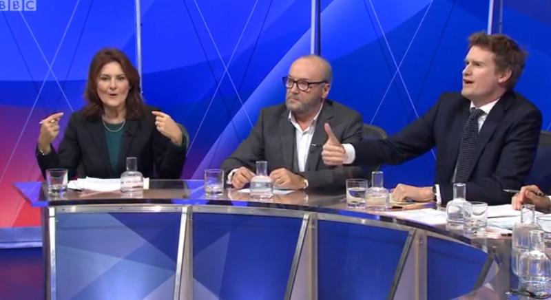 Tristram Hunt on Question Time