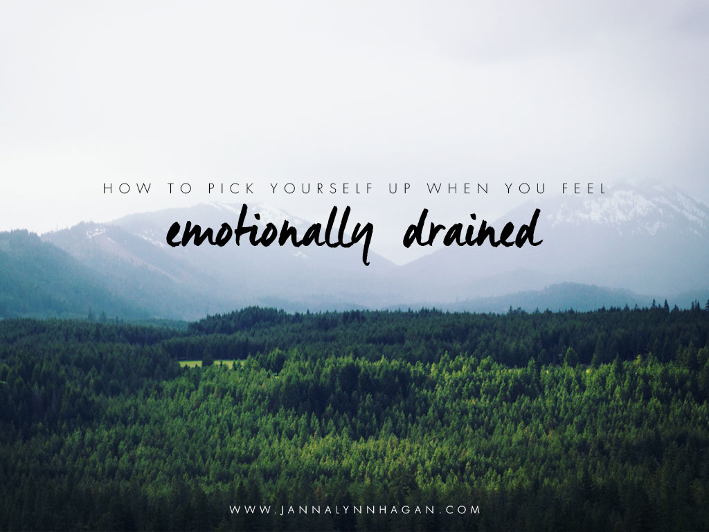 How to Pick Yourself Up When You Feel Emotionally Drained ...