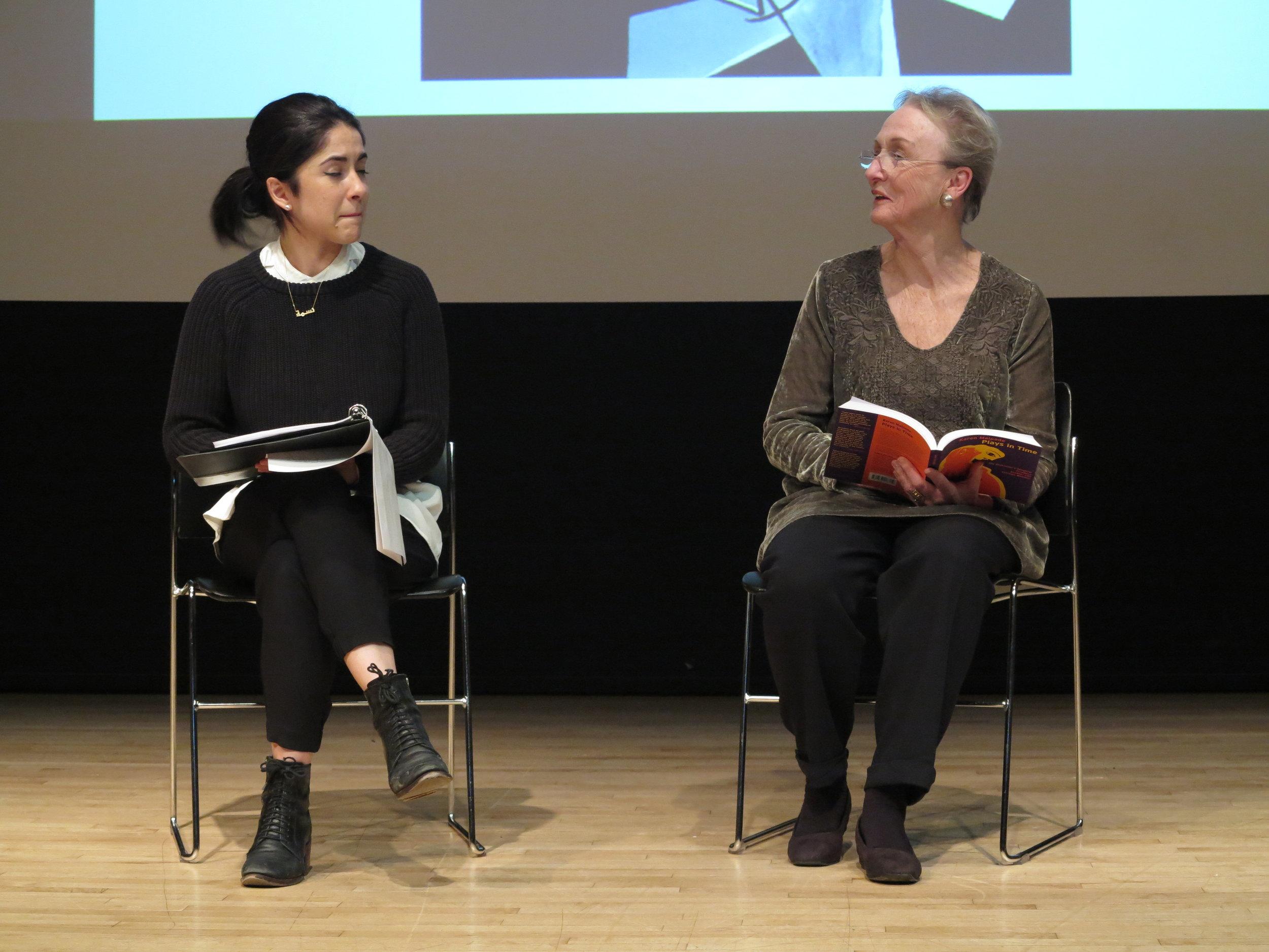 Caitlin Cassidy and Kathleen Chalfant