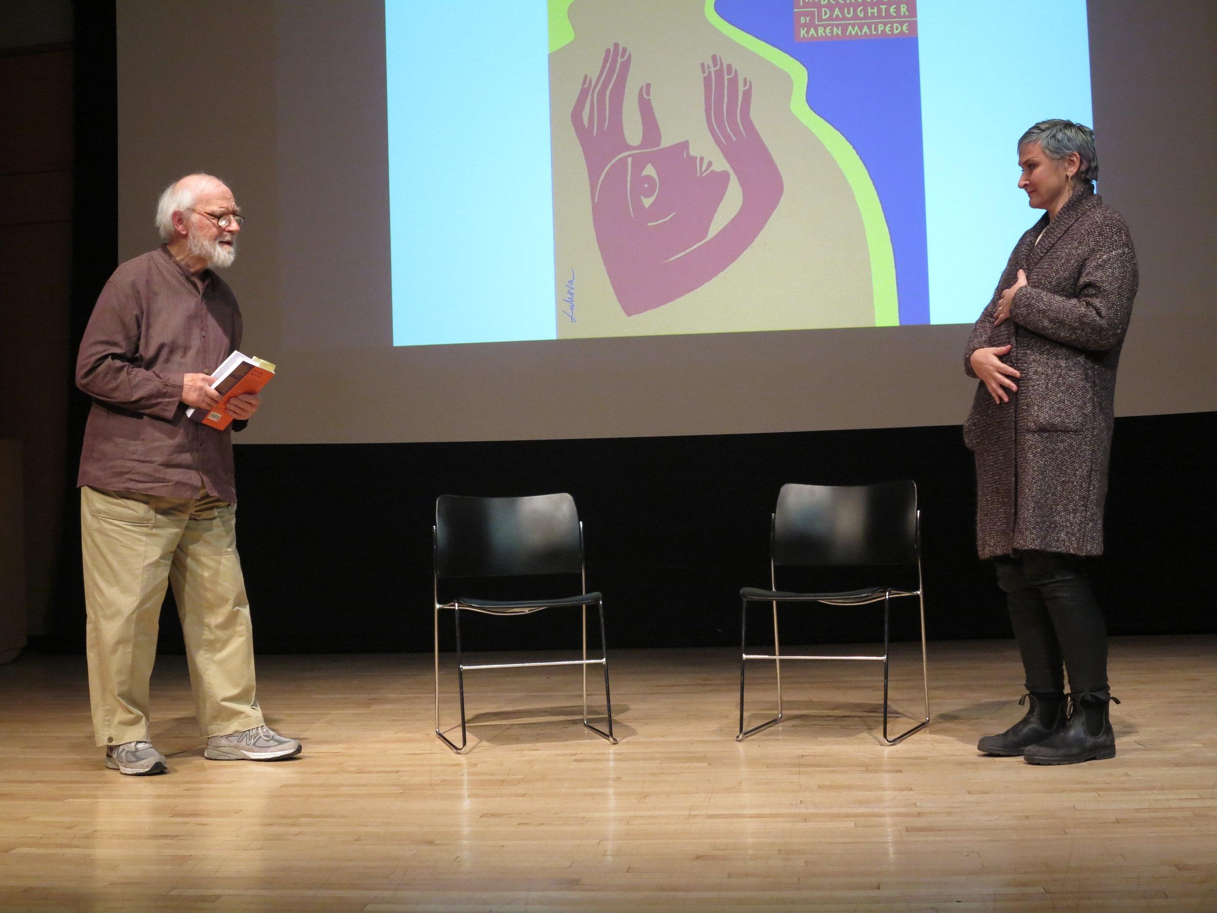 George Bartenieff and Christen Clifford