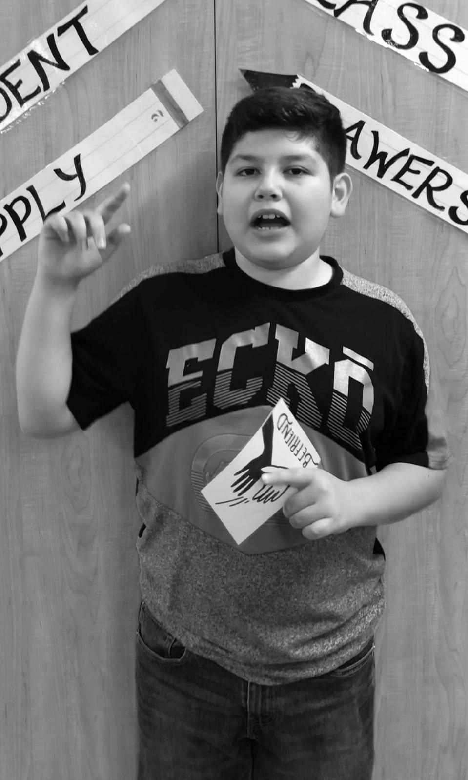 Kevin, 6th Grade