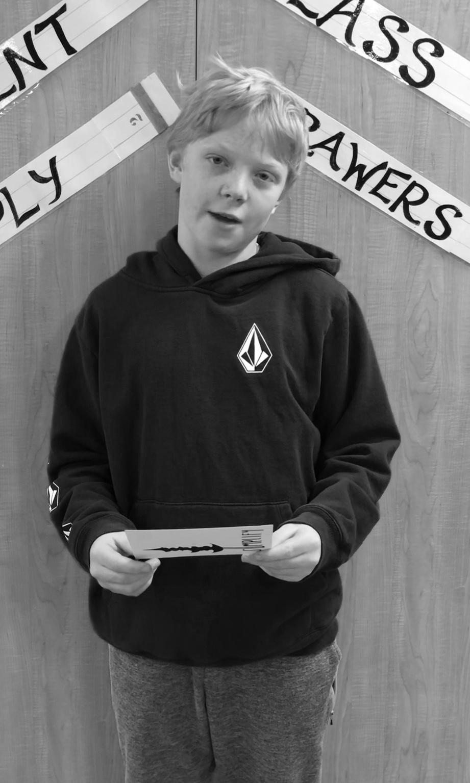 Blake, 6th Grade