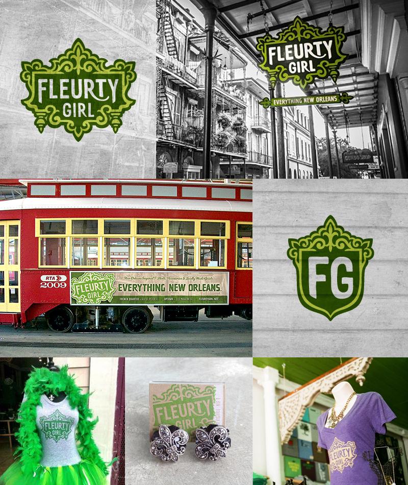 Fleurty Girl   Logo• T-shirt Design  Photos courtesy of Fleurty Girl
