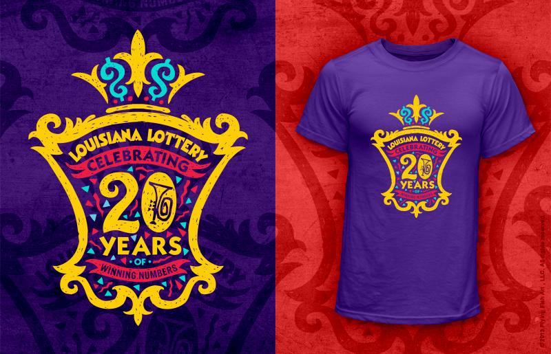 Louisiana Lottery     20 Year Anniversary  - Cindy Strecker & Valerie Strecker