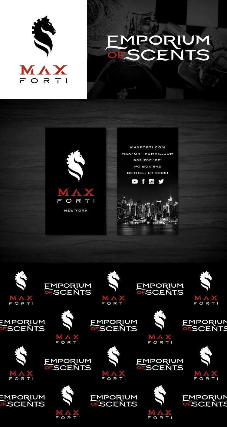 Max Forti | Emporium of Scents   Logos •Bizcards • Step and Repeat