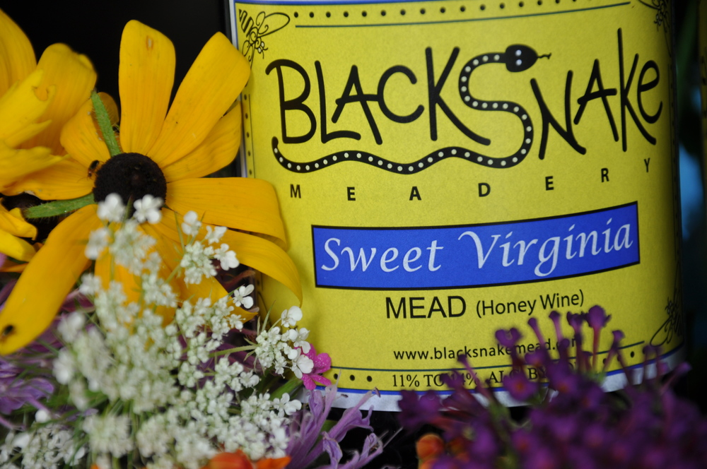 Sweet Virginia (2019 Governor's Cup Silver; 2018 & 2017 Best Mead, Virginia State Fair; 2016 Silver Medal, Traditional Mead, Drink Outside the Grape): - A semi-sweet traditional mead made from fresh Virginia honey. Prominent honey character punctuated by herbal flavors. Gluten-free. $21/750 mL.Click to order on VinoShipper.