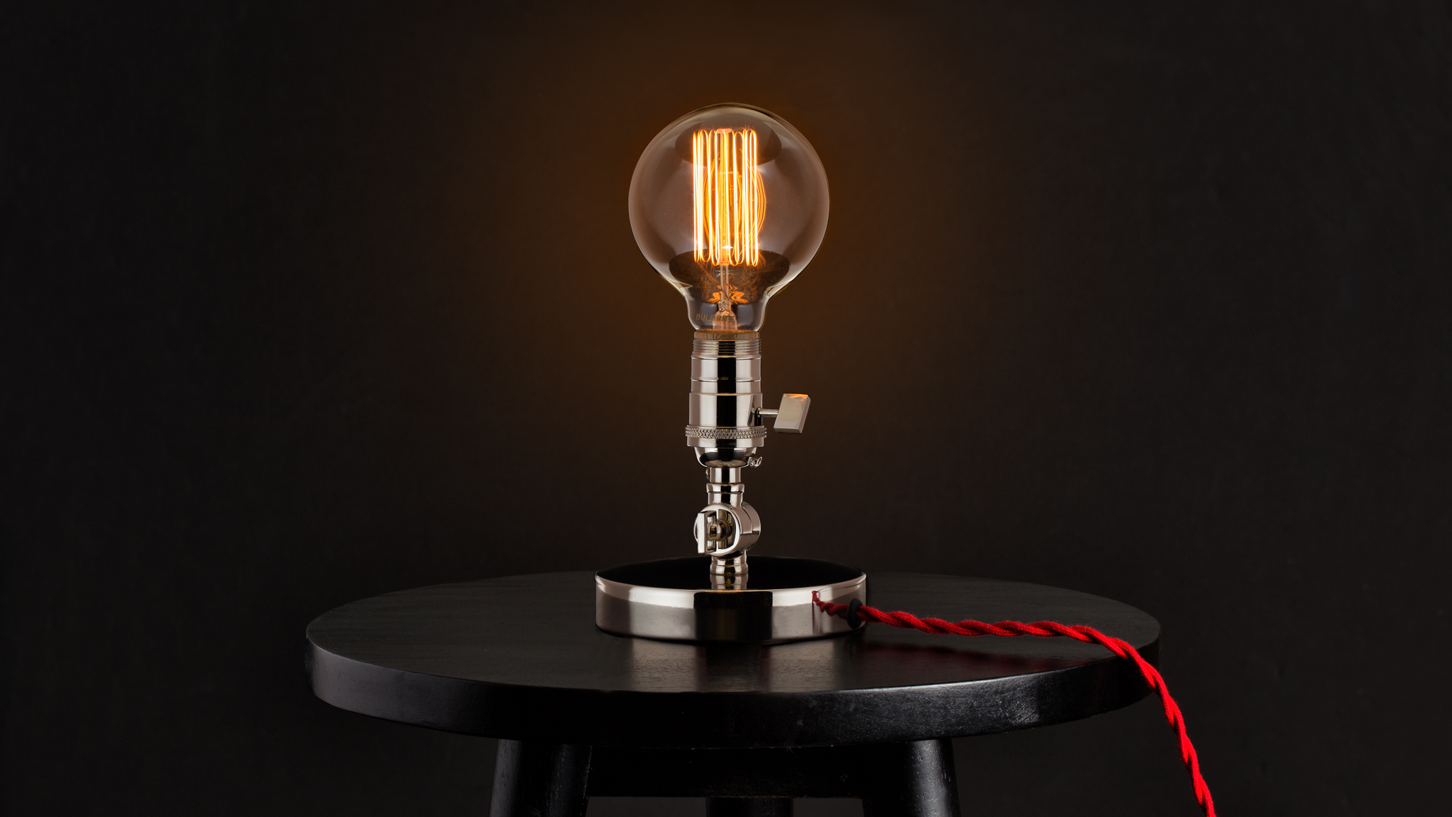 The Fifth Ward Edison Lamp. Design collaboration with Long Made Co. for No. 4 St. James.