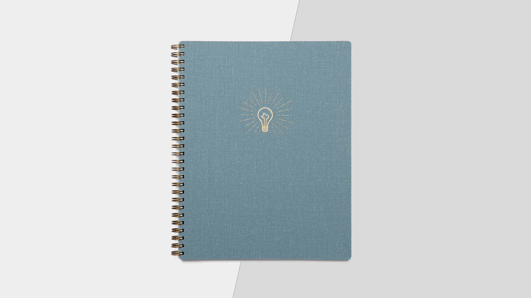 The Big Ideas Notebook. Collaboration with Appointed for No. 4 St. James.