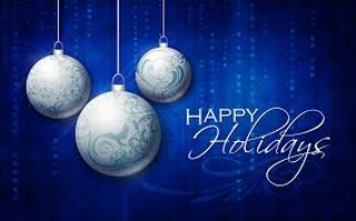 Warm Holiday wishes for health and happiness and a new year filled with success.