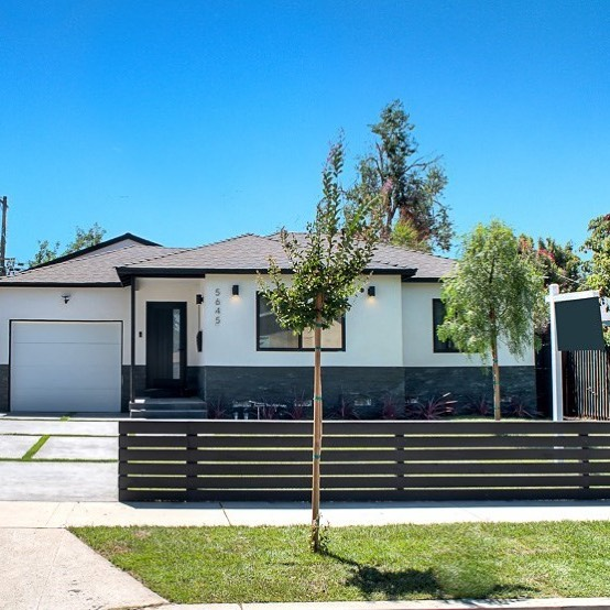 SOLD! | 📍5645 Hesperia | Encino | SP $1,025,000 | Represented Buyer -  Newly expanded and completely remodeled modern home in Encino Park.