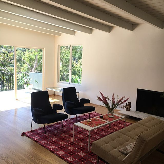 Stunning modernist home in coveted Beachwood Canyon location. Listed at $1,465,000. #HollywoodHills