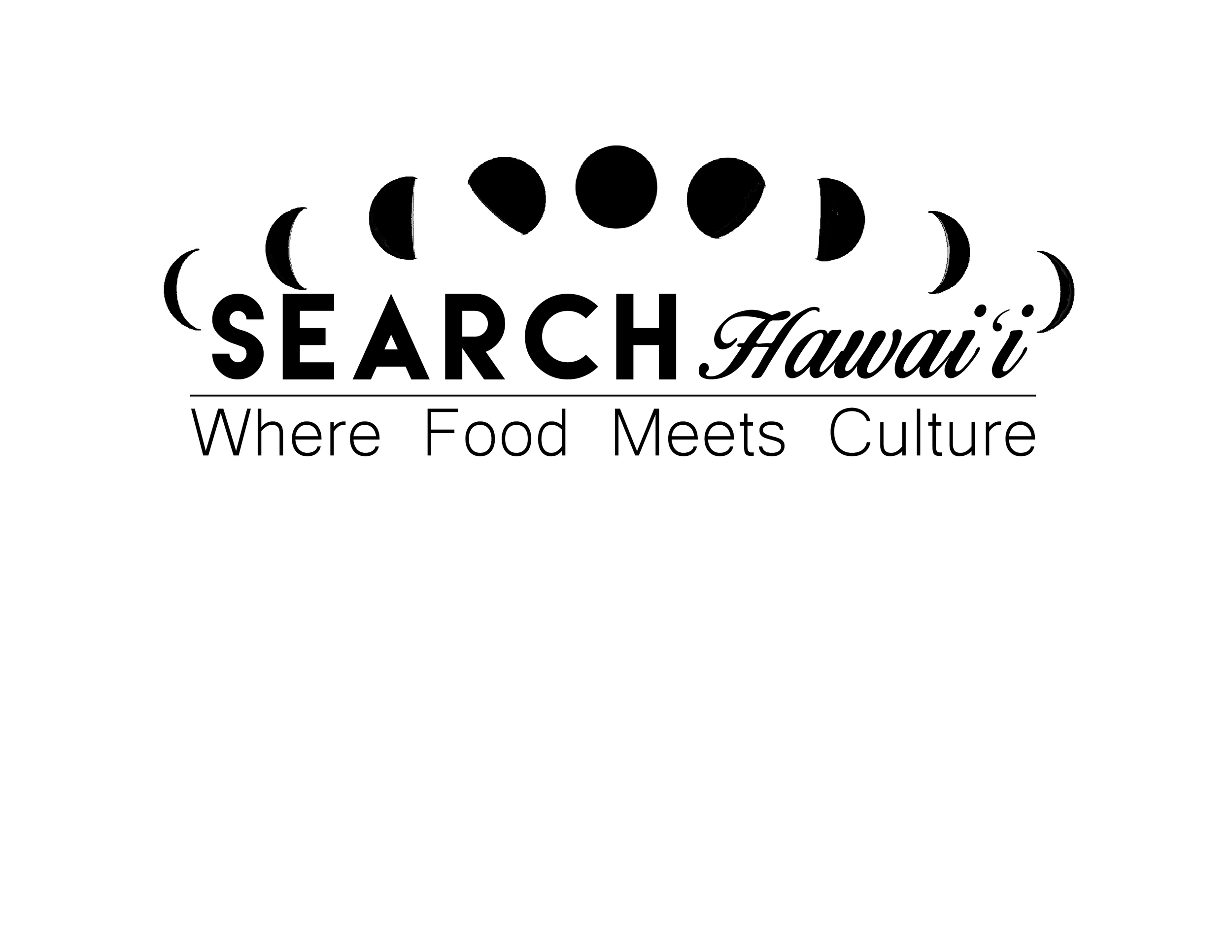 Logo Design for T.V. Show, SEARCH Hawaii