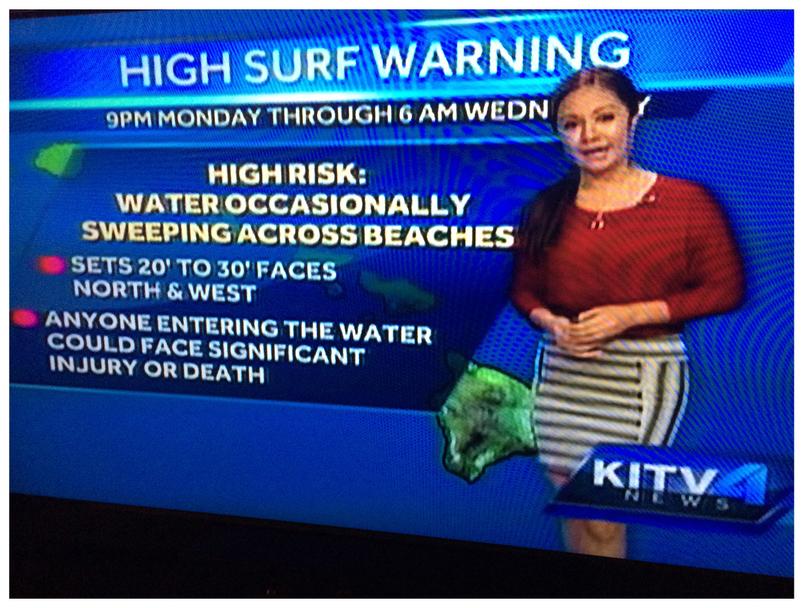 KITV4 Honolulu News, November 2014