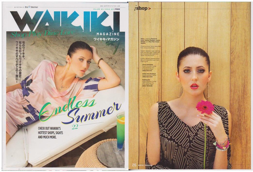 Waikiki Magazine, Summer 2015