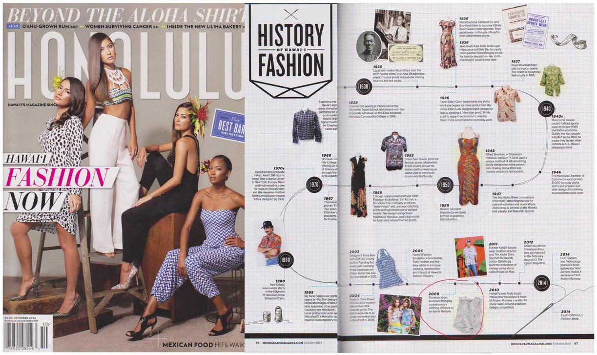 Honolulu Magazine, October 2014