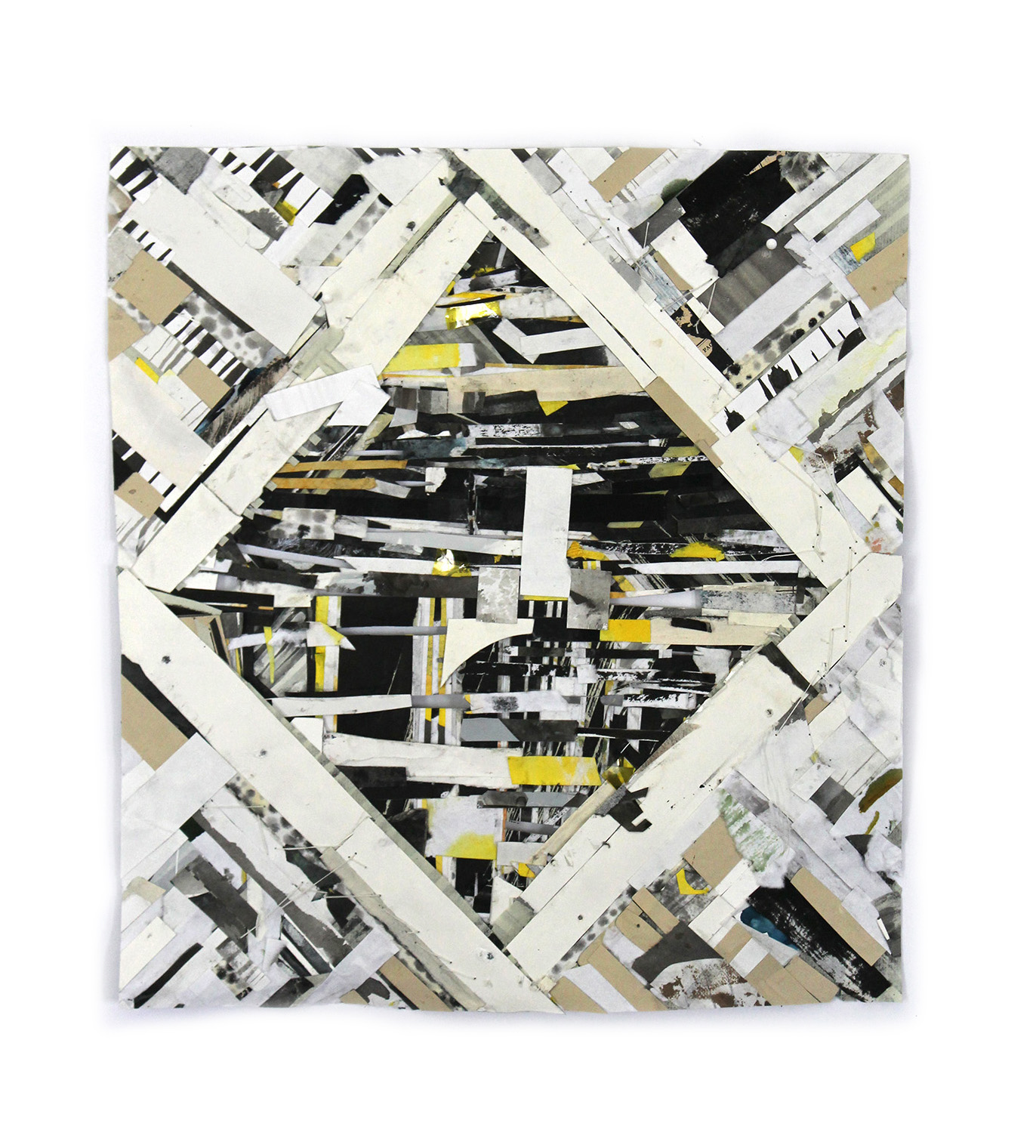 Uplift Rift and Seeing What Sticks , verso, 2013, 15 x 13in.