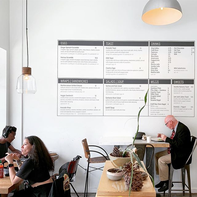Check out our #menu and spot the additions... #cowcafe #southparkdtla #localfood #brunch #dtla
