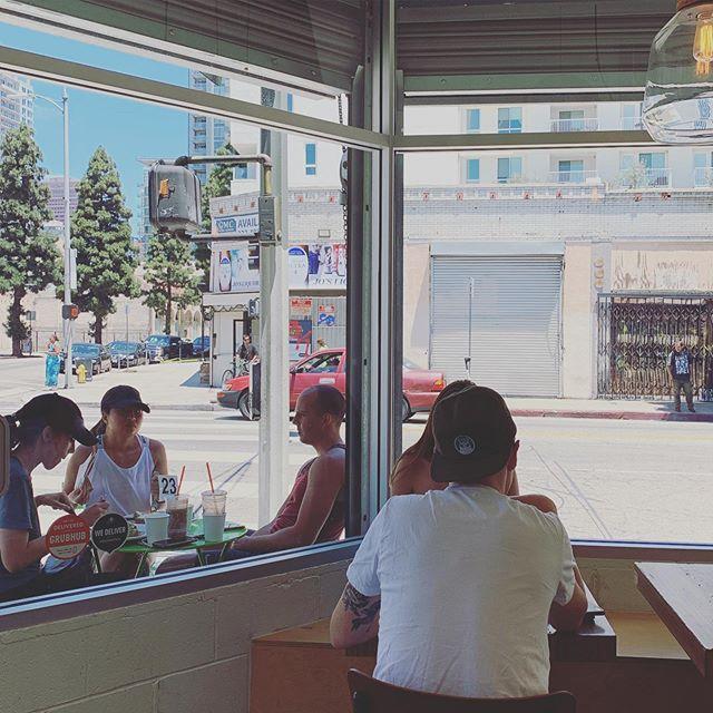 Your corner #southparkdtla #cowcafe #healthyfood #espresso #matcha