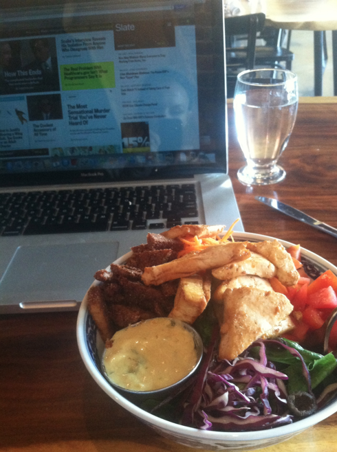 Lunch Break while catching up on Slate.com