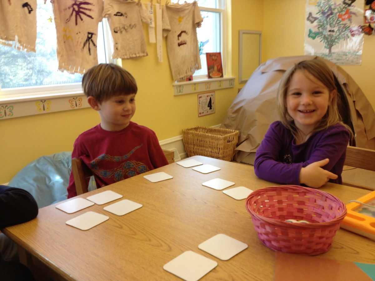 playing a numeral recognition game