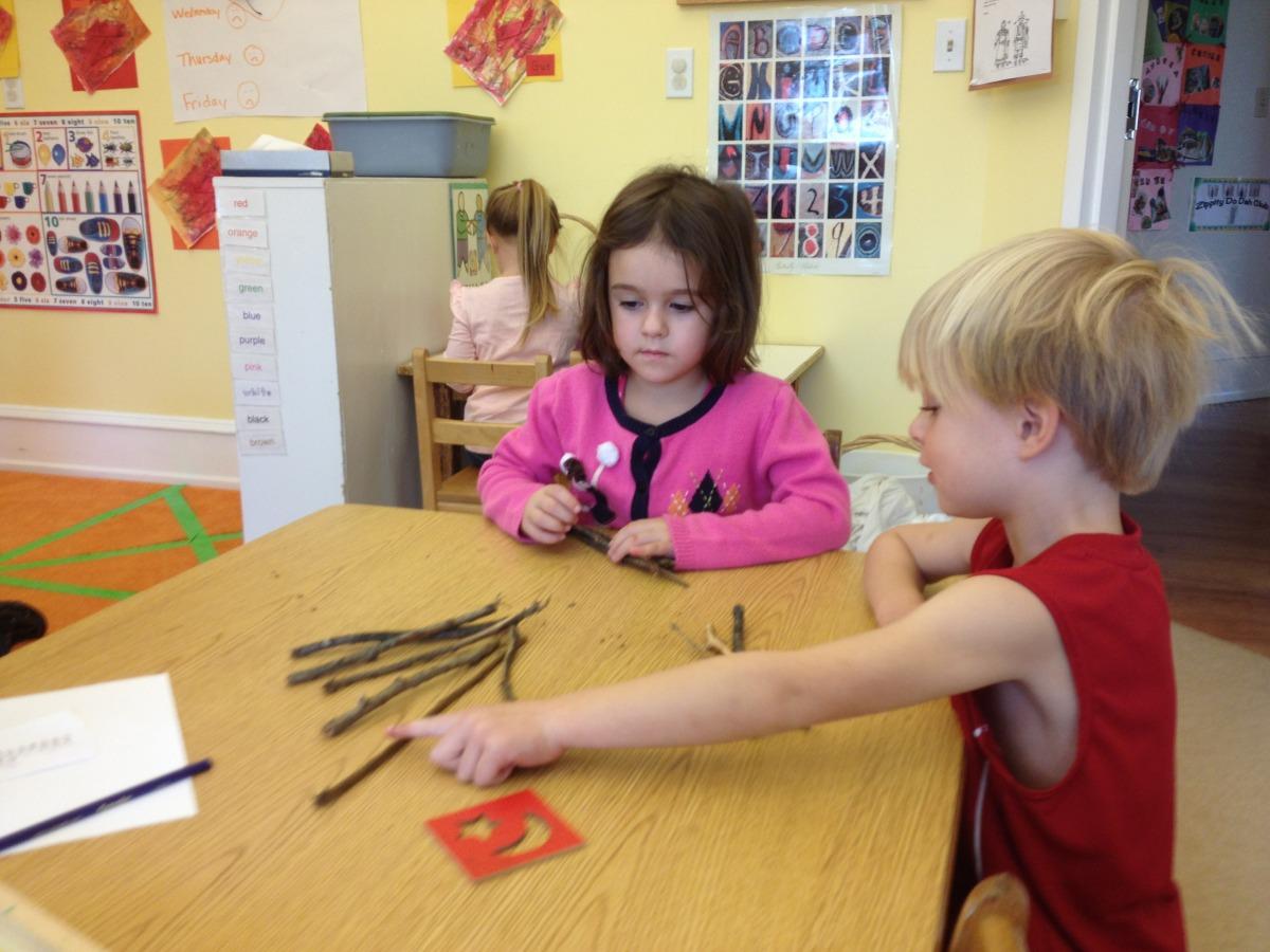 playing jackstraws