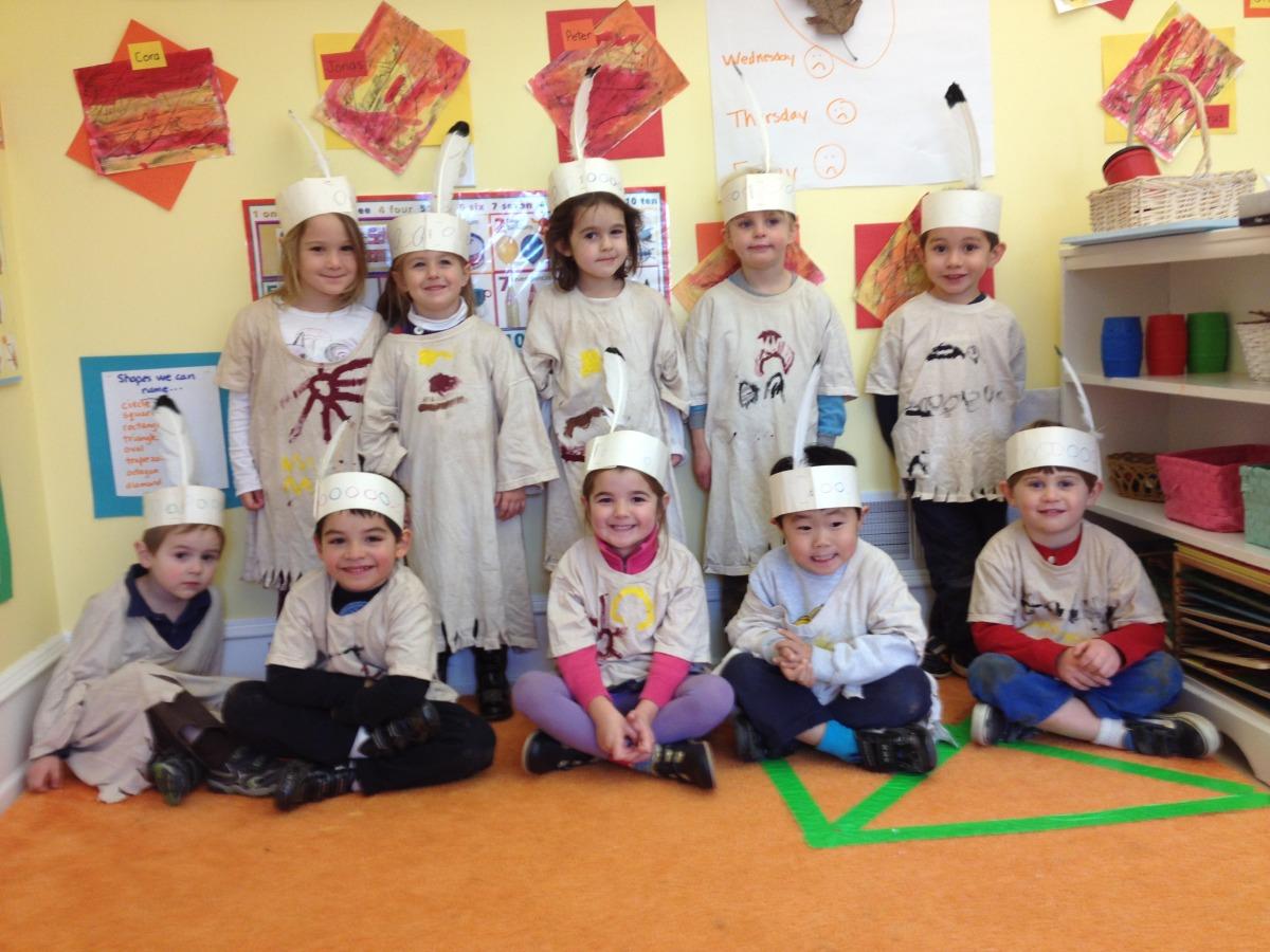 our Lenape clothes