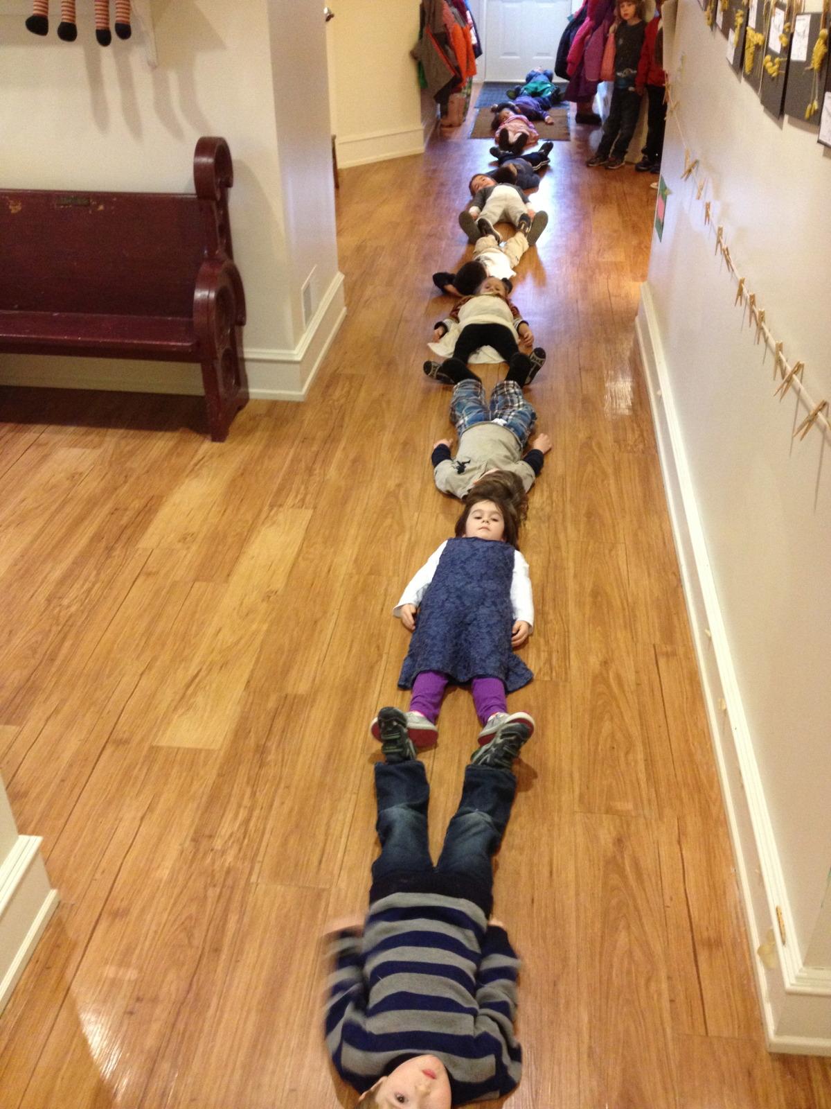 ten children equals one hyselosaurus