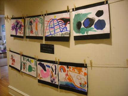 Kindergarten's Hopes and Dreams Exhibit/Display