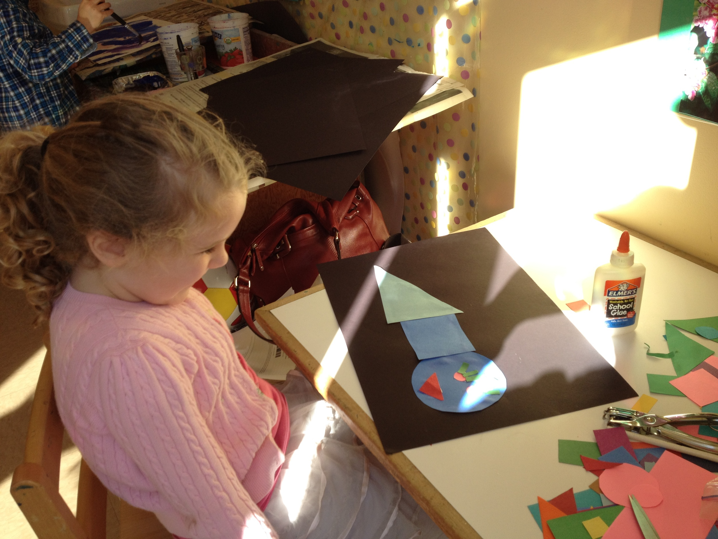 making a picture from shapes