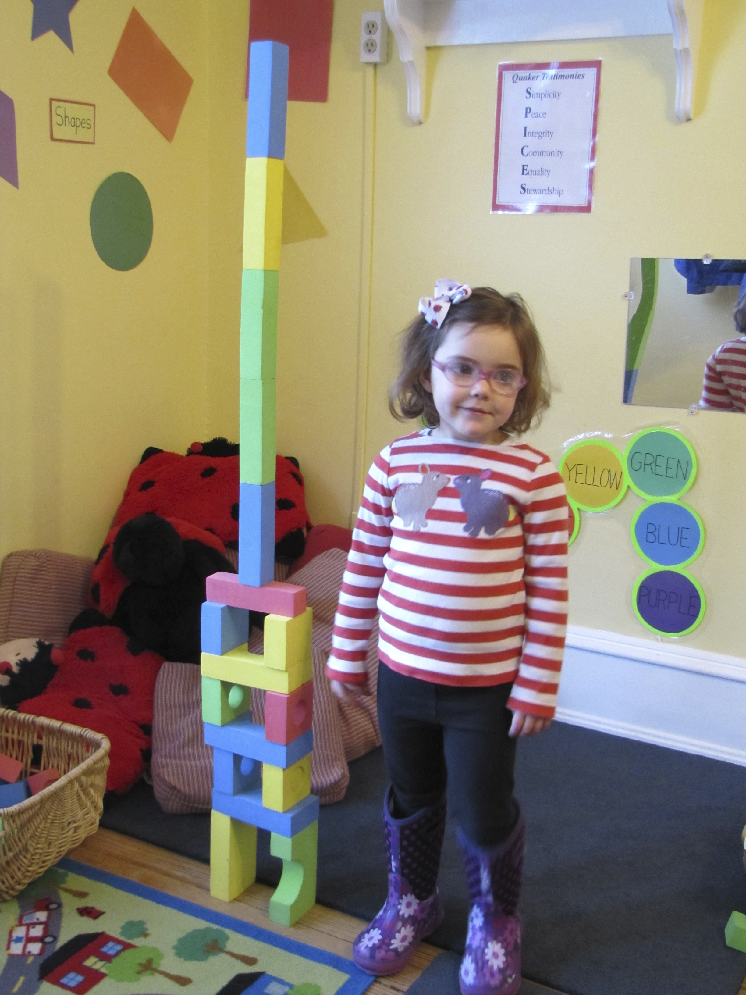 my structure is taller than I am!